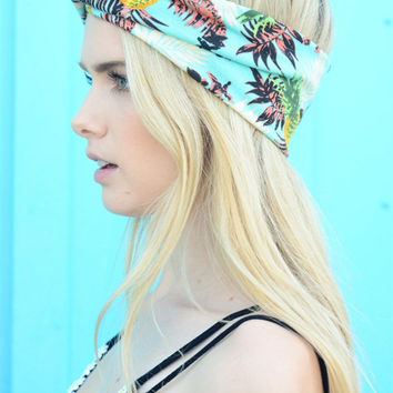 Tropical Twist Headwrap