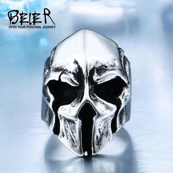 ac DCCKO2Q New Store Dropshipping Big Biker Skull Ring For Man Stainless Steel Unique Punk Men Cool Vintage Jewelry free shipping BR8-414