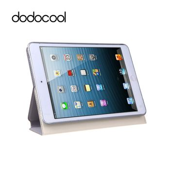dodocool Case for iPad mini with Retina Display 360 Degree Rotating PU Leather Swivel Flip Stand Cover Protective Shell For iPad