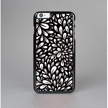 The Black Floral Sprout Skin-Sert for the Apple iPhone 6 Skin-Sert Case