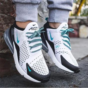 NIKE Air Max 270 Women Men Fashion Contrast Sneakers Shoes