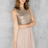 Laurel Sequin Dress