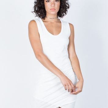 Samantha Ruched Dress