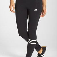 Women's adidas 3-Stripes Stretch Cotton Leggings,
