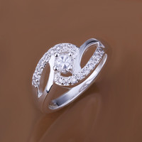 Bicyclic Silver Ring