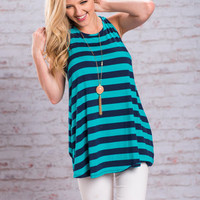 Not A Day Goes By Tunic, Navy