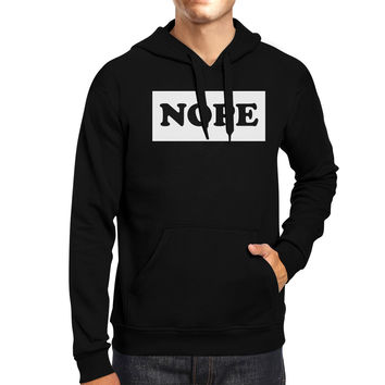 Nope Hoodie Trendy Unisex Hooded Sweater Back To School Outfit