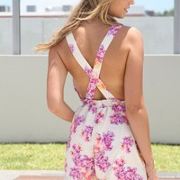 SABO SKIRT  Orchid Criss-Cross Playsuit - $52.00