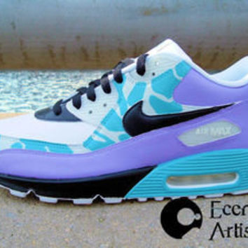 "Ecentrik Artistry — ""Sublime Visuals"" Custom Air Max 90 (w. free t-shirt)"