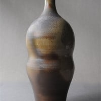 Wood Fired Clay Bottle