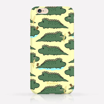 Cute Crocodile iPhone Case