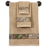 Bass Pro Shops® Realtree Xtra® Green - Camouflage Bath Towels