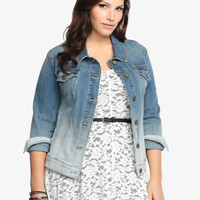 Torrid Ombre Denim Jacket