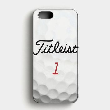 Titleist Tour Golf Balls iPhone SE Case