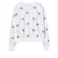 Kitty Bow Sweater