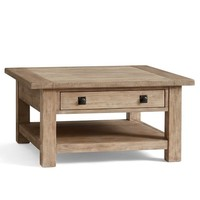 Benchwright Square Coffee Table, Seadrift