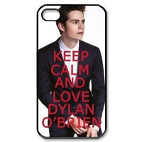 Custombox Dylan O' Brien Iphone 4/4s Case Plastic Hard Phone Case for Iphone 4/4s-iPhone 4-DF02770