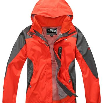 The new North Face female fleece two sets of sports outdoor clothing / the north