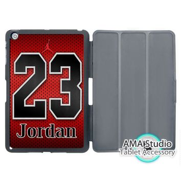 Basketball Lover Jordan Jersey Case For Apple iPad Mini 1 2 3 4 Air Pro 9.7 Stand Smart Folio Cover