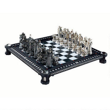 Harry Potter Final Challenge Chess Set by Noble Collection   HarryPotterShop.com