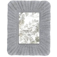 Home Accents Knit Picture Frame / Photo Frame 4 x 6 (Distressed Grey)