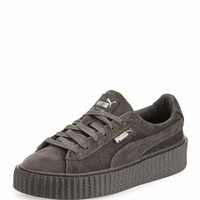 Fenty Puma by Rihanna Velvet Low-Top Creeper