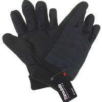 Black Route 66 Gloves 3M Thinsulate Insulation Lined Mens Winter Snow Knit Cuff