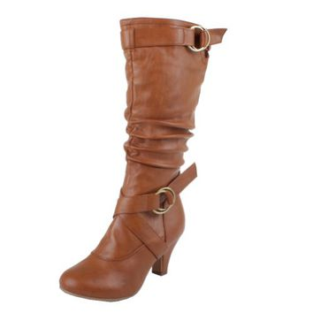 Top Moda Women's Auto-2 Round Toe Dre...