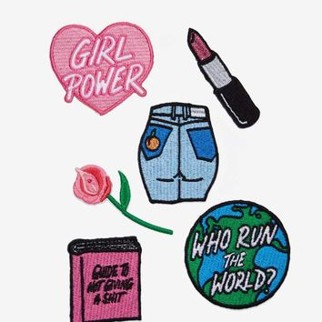 Local Heroes Girl Power Patch Pack