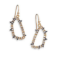 Alexis Bittar - Elements Punk Crystal Spiked Drop Earrings - Saks Fifth Avenue Mobile