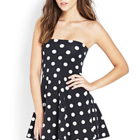 Polka Dot Tube Dress