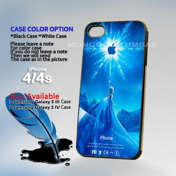 Disney Frozen Elsa Castle, Photo On Hard Plastic iPhone 4 4S Case