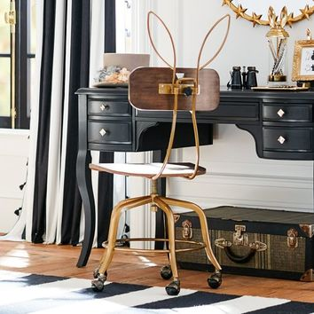 The Emily + Meritt Bunny Ears Desk Chair
