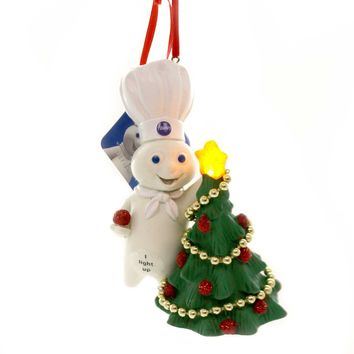 Holiday Ornaments DOUGHBOY DECORATING TREE LIT Pillsbury Department 56 6000384