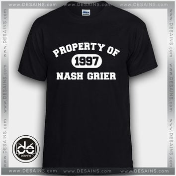 Best Tee Shirt Property of Nash Grier Custom T-Shirt Review