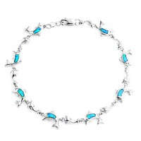 Bling Jewelry Playful Blue Chain