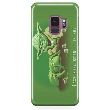 Easy Being Green, It Is Not Samsung Galaxy S9 Case | Casefantasy
