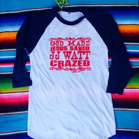 JJ Watt Crazed raglan from PeaceLove&Jewels
