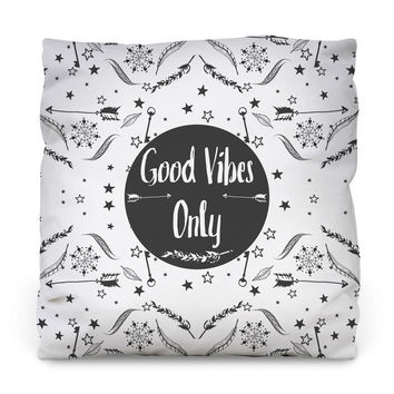 Good Vibes II Throw Pillow