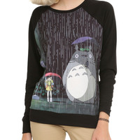 Studio Ghibli Her Universe My Neighbor Totoro At The Bus Stop Girls Pullover Top