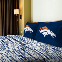 Broncos  Full Sheet Set