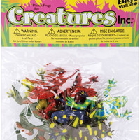 Creatures Inc.-Frogs 8/Pkg