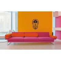 Sugar Skull Vinyl Wall Decal Sticker Graphic By LKS Trading Post