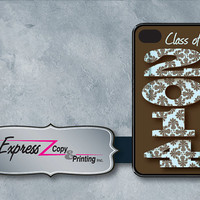 Class of 2014 iPhone  4/4S or iPhone 5 Case by ExpressCopyPrinting
