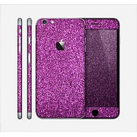 The Purple Glitter Ultra Metallic Skin for the Apple iPhone 6 Plus
