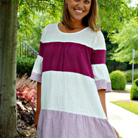 Ever So Sweet Berry Dress