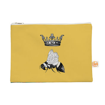 """Catherine Holcombe """"Queen Bee"""" Canary Yellow Everything Bag"""