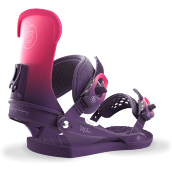 Union Milan Women's Snowboard Bindings Plum 2018