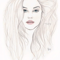 Barbara Palvin Art Print by Laia™