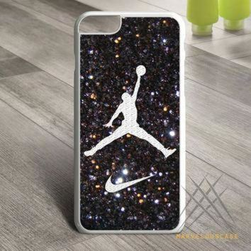 CREYUG7 Nike Air Jordan Sparkle Logo Custom case for iPhone, iPod and iPad